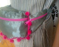 Hemp Silk Fanny Pack