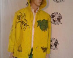 Mens Endangered Species Hoody Jacket M Hermans ECO USA