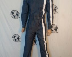 Mens Jumpsuit Racing Stripe Hermans Eco MED USA