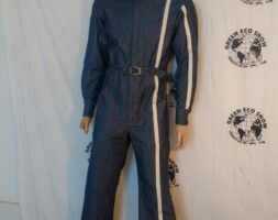 Mens Jumpsuit M to L Racing Stripe Hermans Eco USA