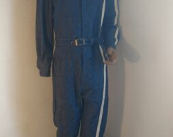 Mens Racing Stripe Jumpsuit Small Hermans Eco