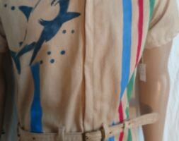 Mens Jumpsuit M Natural Colored Organic cotton M Hermans Eco