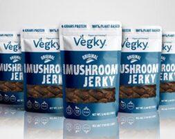 Original Vegky Mushroom Jerky 5 pack (70 Grams each)