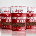Spicy Vegky Mushroom Jerky 5 pack (70 Grams each)