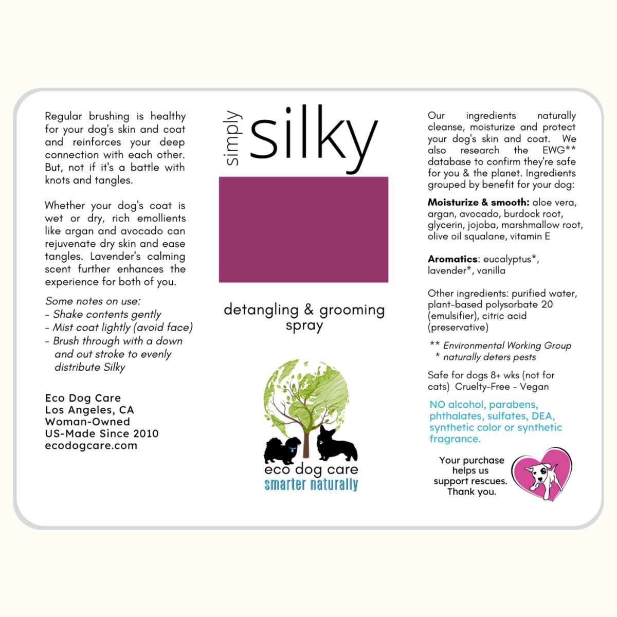 Simply Silky Detangling Spray