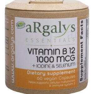 Argayls Essentials B12 + Iodine & Selenium