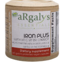 aRgalys Essentials Iron Plus with Vitamin C, Vitamin B12, & Carrot