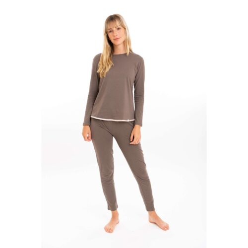 Leenaandlu sleepwear and loungewear color dusk