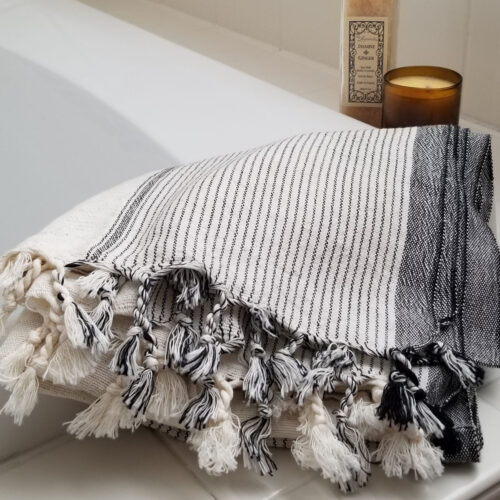 Traditional Turkish towel Cream Color