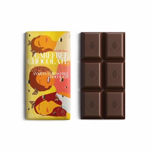 The Functional Chocolate Company Carefree Chocolate for Stress & Anxiety