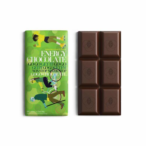 The Functional Chocolate Company Energy Chocolate