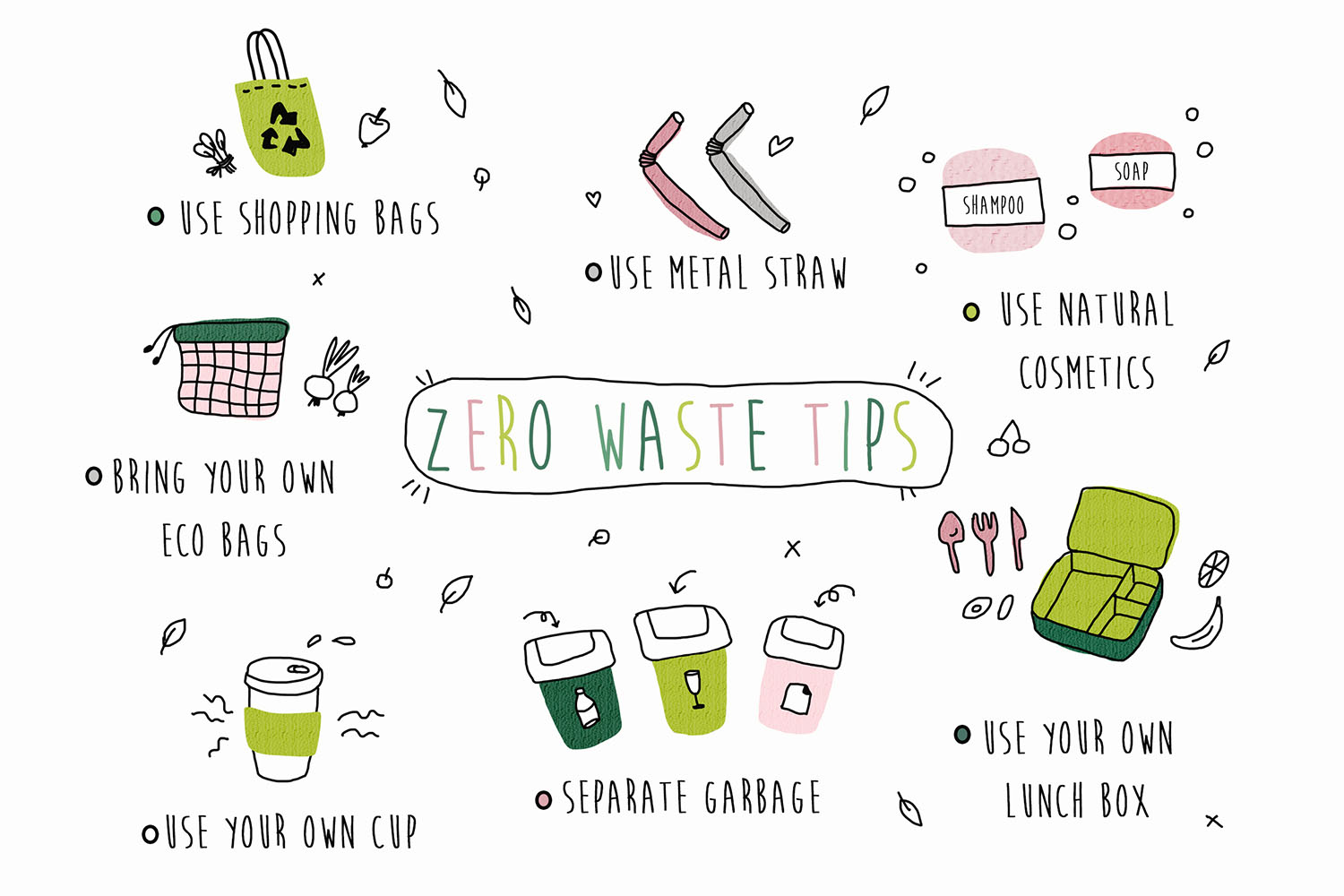 Zero Waste Products for You and Your Home